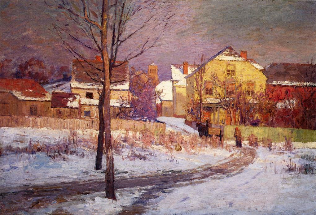 Tinker Place 1891 | Theodore Clement Steele | oil painting