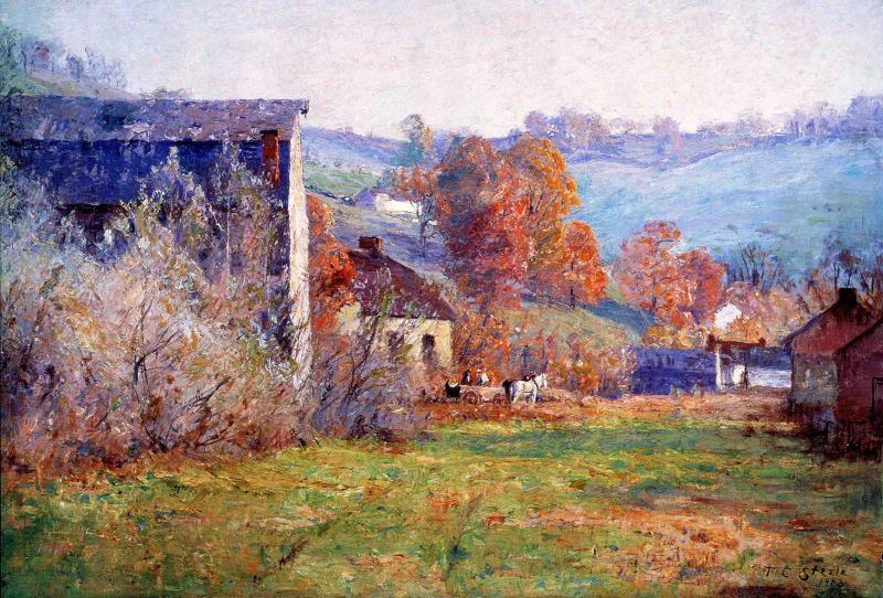 The Old Mills 1903 | Theodore Clement Steele | oil painting