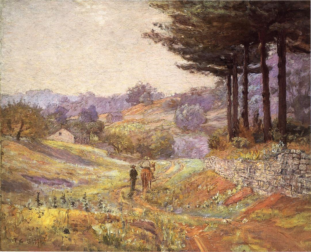 Hills of Vernon 1894 | Theodore Clement Steele | oil painting