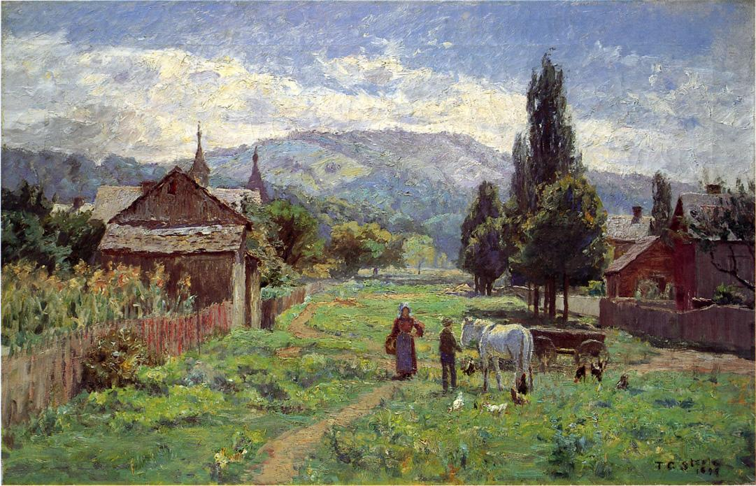 Cumberland Mountains 1899 | Theodore Clement Steele | oil painting