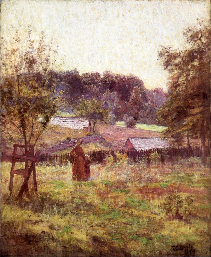 At Noon Day 1894 | Theodore Clement Steele | oil painting