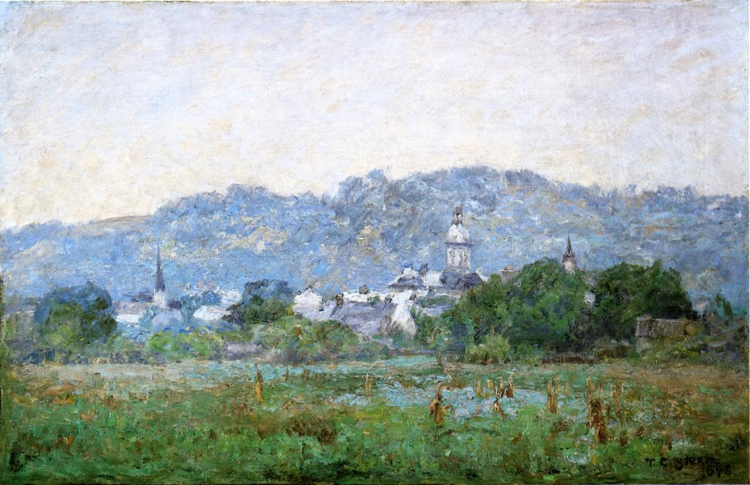 Brookville 1898 | Theodore Clement Steele | oil painting