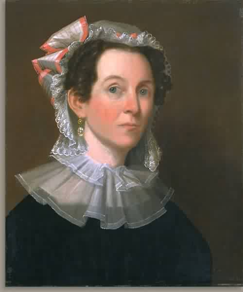 Elizabeth Bartlett Nolen Mrs Henry Nolen 1828 30 | John Ritto Penniman | oil painting