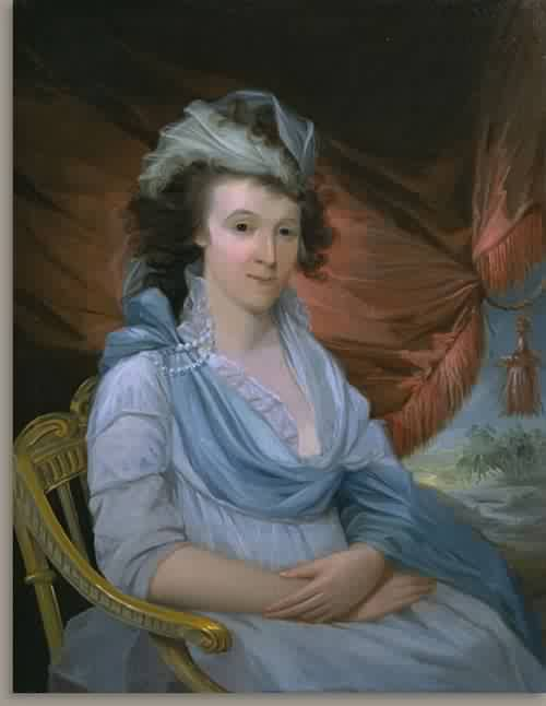 Lucretia Tuckerman Wier Mrs Robert Wierabout 1795 97 | Unidentified Artist Eighteenth Century | oil painting