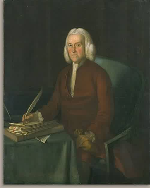 Hugh Jones 1777 | Joseph Blackburn | oil painting