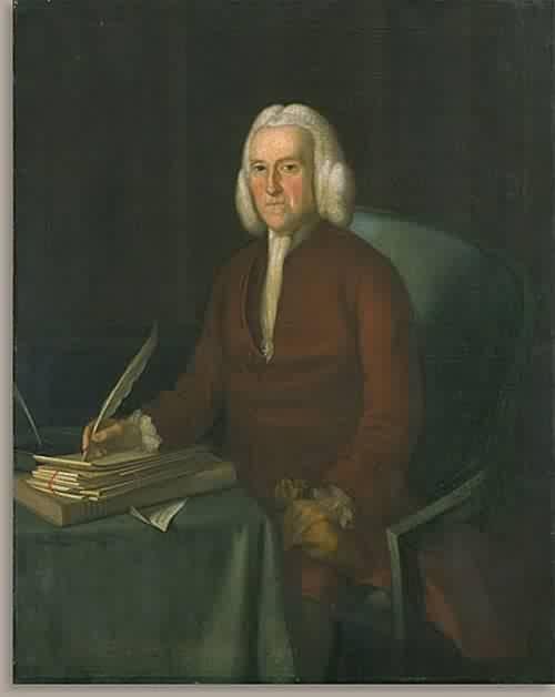 Hugh Jones 1777 | Joseph Blackburn | oil painting