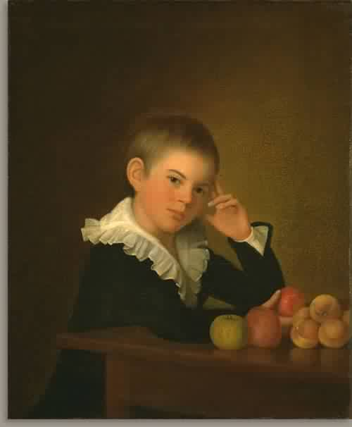 Edward Savage Jr about 1801 | Edward Savage | oil painting