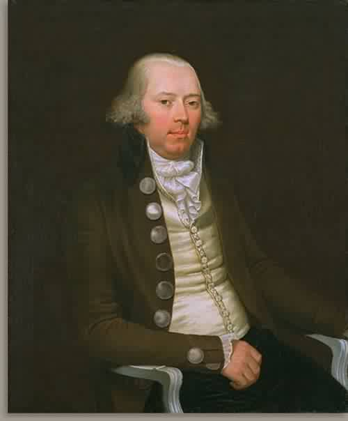 Portrait of a Man about 1790 | Attributed to Mather Brown | oil painting