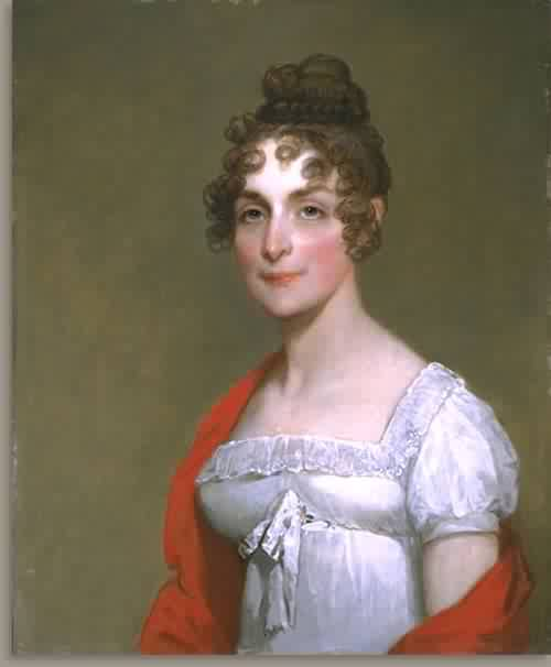 Margaret Crease Stackpole Welch Mrs Francis Welch about 1815 | Gilbert Stuart | oil painting