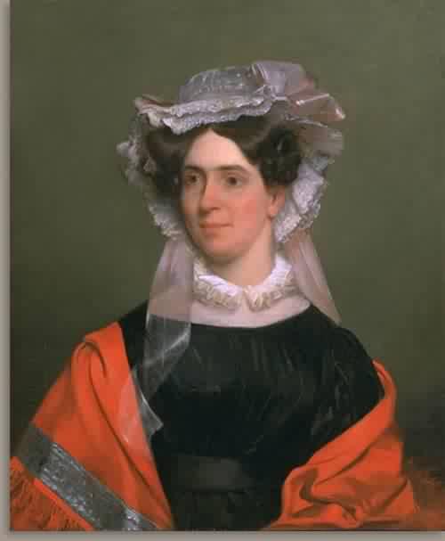 Sarah Stanton Blake Mrs Joshua Blake about 1827 | Chester Harding | oil painting