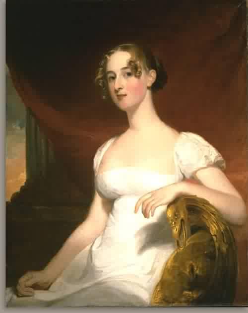 Margaret Siddons Kintzing Mrs Benjamin Kintzing 1812 | Thomas Sully | oil painting