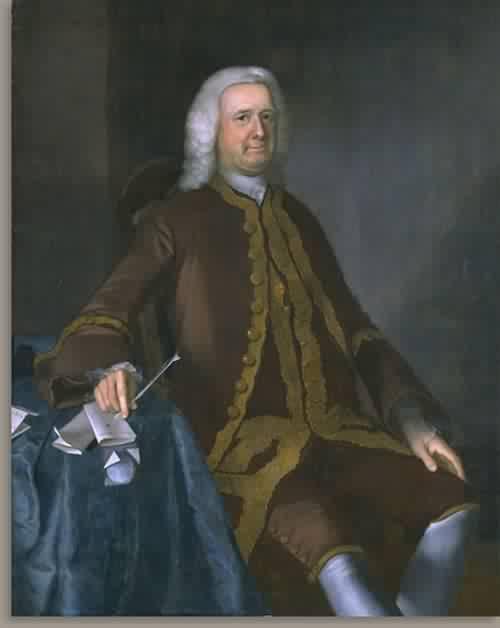 Colonel Theodore Atkinson 1760 | Joseph Blackburn | oil painting