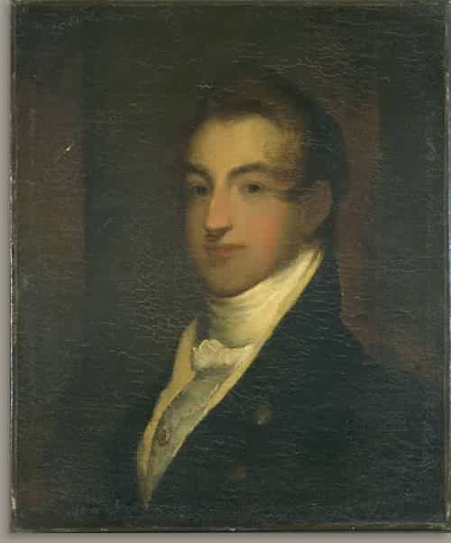 Portrait of a Man with a White Stock about 1820 25 | Unidentified Artist Nineteenth Century | oil painting