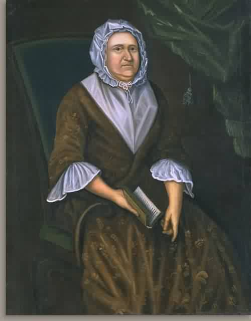Faith Savage Waldo Mrs Cornelius Waldo about 1750 | Joseph Badger | oil painting