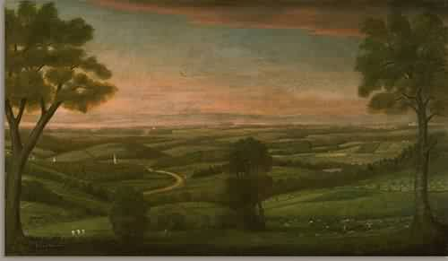 Looking East from Denny Hill 1800 | Ralph Earl | oil painting