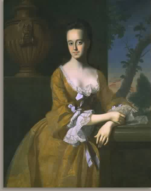 Lucretia Chandler Murray Mrs John Murray 1763 | John Singleton Copley | oil painting