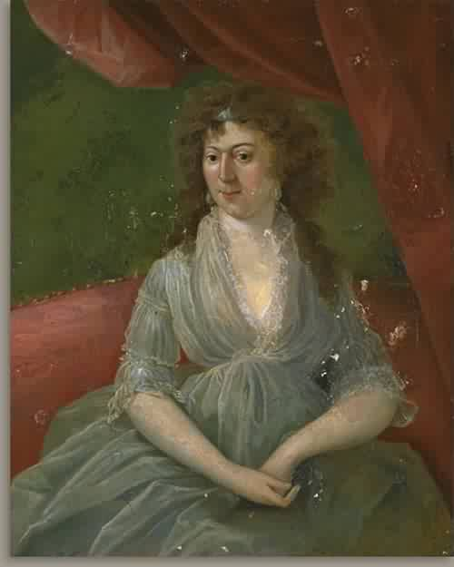 Elizabeth Tuckerman Salisbury Mrs Stephen Salisbury I about 1800 | Unidentified Artist Eighteenth Century | oil painting
