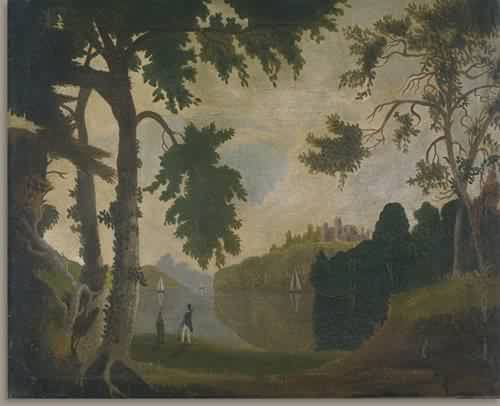 Landscape 1820s | Unidentified Artist Nineteenth Century | oil painting