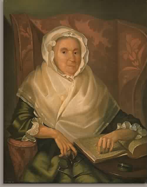 Martha Saunders Salisbury Mrs Nicholas Salisbury 1789 | Christian Gullager | oil painting
