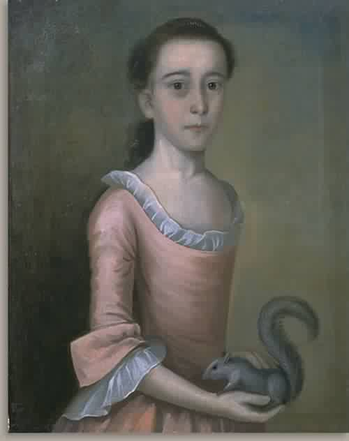 Rebecca Orne Mrs Joseph Cabot 1757 | Joseph Badger | oil painting