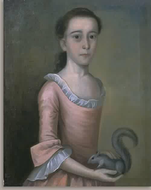 Rebecca Orne Mrs Joseph Cabot 1757 | Joseph Badger | oil painting