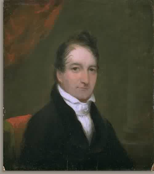 Dr Joseph Henshaw Flint about 1828 30 | Attributed to Chester Harding | oil painting