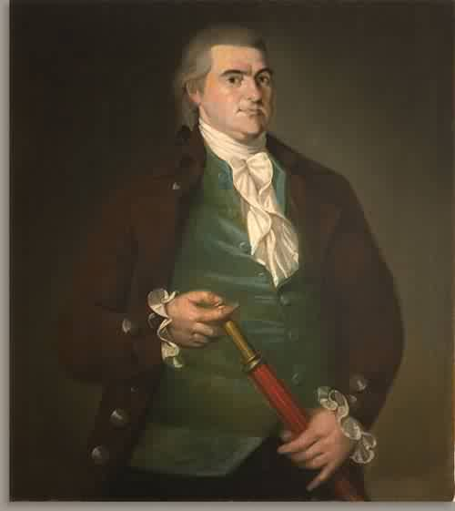 Captain Offin Boardman about 1787 | Christian Gullager | oil painting