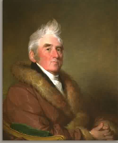 Russell Sturgis 1822 | Gilbert Stuart | oil painting