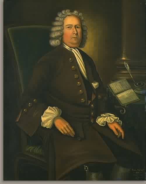 Cornelius Waldo 1750 | Joseph Badger | oil painting