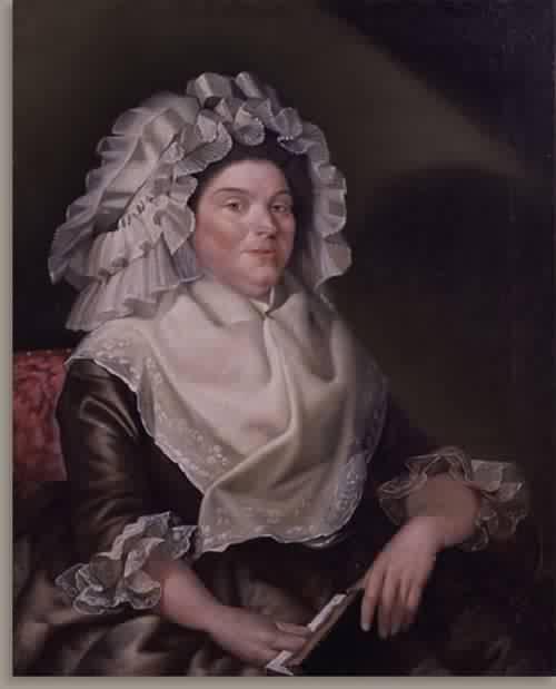 Elizabeth Sewall Salisbury Mrs Samuel Salisbury 1789 | Christian Gullager | oil painting