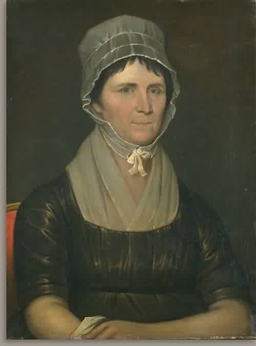 Rachel West Clarkson Mrs John Clarkson about 1795 | Jeremiah Paul | oil painting