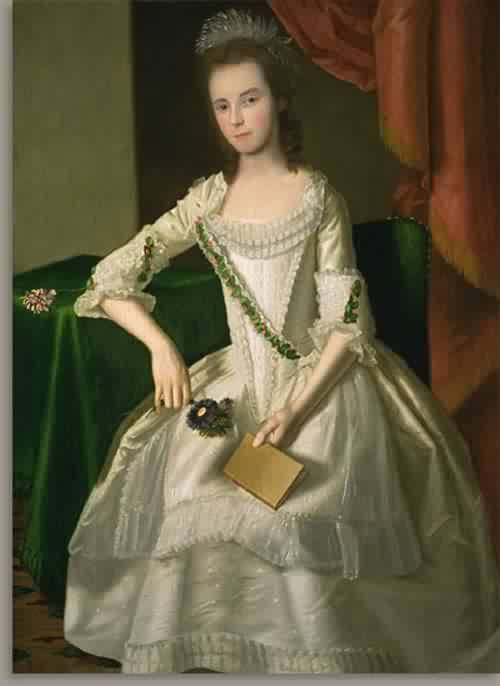 WMary Ann Carpenter Mrs Thompson Forster 1779 | Ralph Earl | oil painting