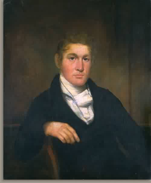George Spalding 1826 | William Dunlap | oil painting