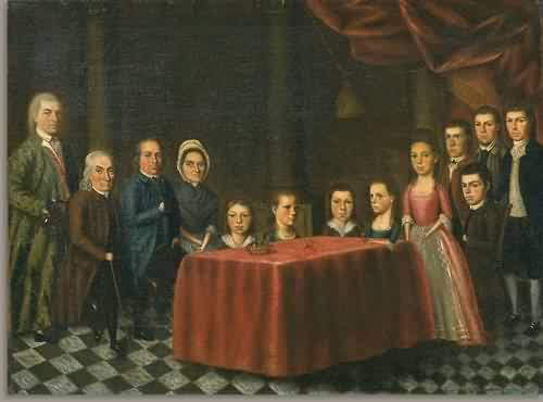 The Savage Family about 1779 | Edward Savage | oil painting