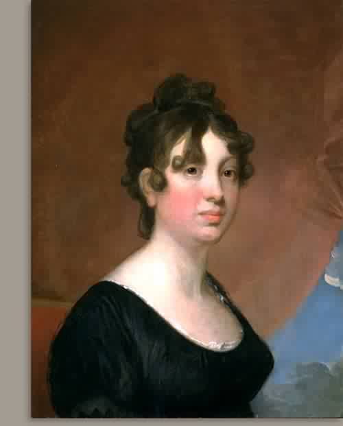 Elisabeth Bender Greenough Mrs David Greenough about 1820 | Gilbert Stuart | oil painting