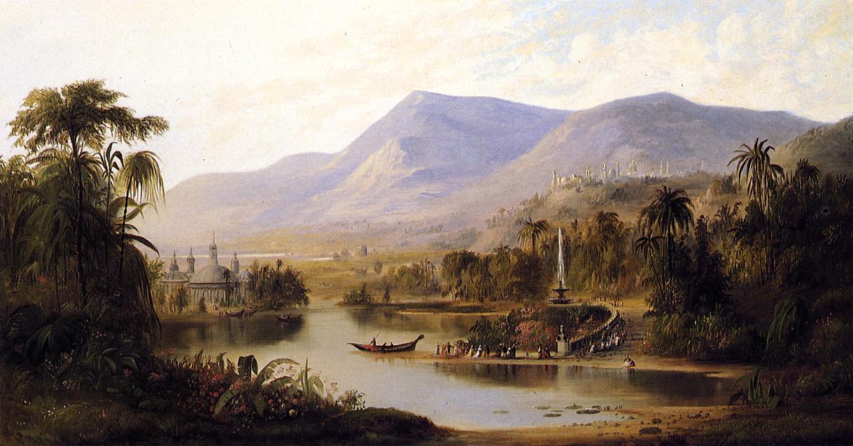 Vale of Kashmir 1870 | Robert Scott Duncanson | oil painting