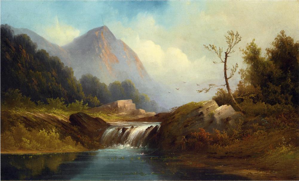 Wilderness Idyll 1868 | Robert Scott Duncanson | oil painting