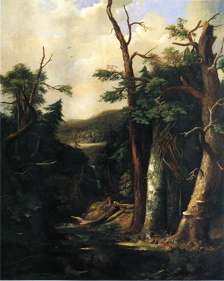 Western Forest aka Aftermath of a Tornado 1857 | Robert Scott Duncanson | oil painting
