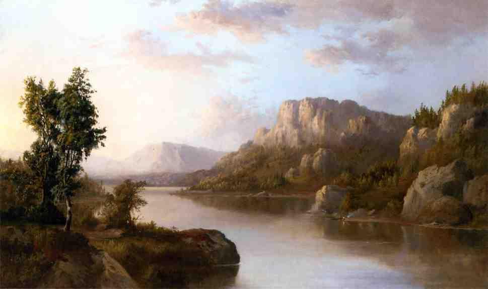 Landscape 1870 | Robert Scott Duncanson | oil painting