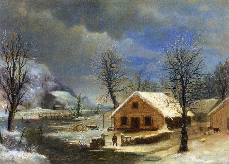 Winter 1849 | Robert Scott Duncanson | oil painting