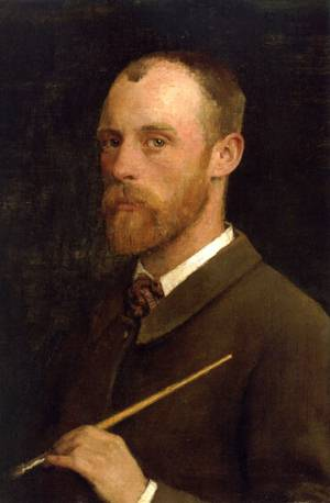 Portrait of the Artist 1882 | Sir George Clausen | oil painting