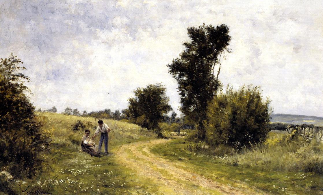 Country Road 1878 | Stanislas Lepine | oil painting