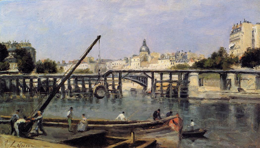 The Saine 1870 | Stanislas Lepine | oil painting