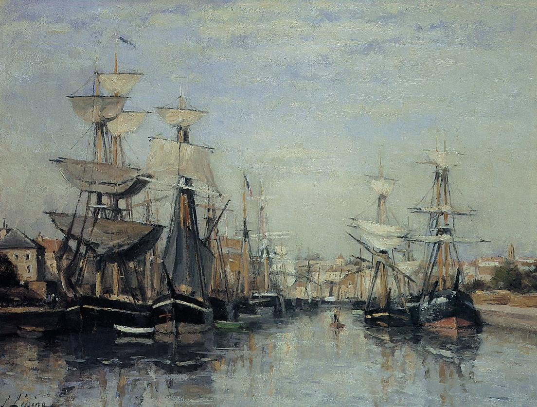 The Saint Pierre Basin 1863 1868 | Stanislas Lepine | oil painting