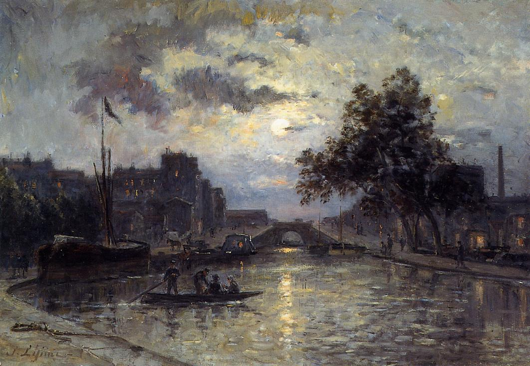 Nocturn Date unknown | Stanislas Lepine | oil painting