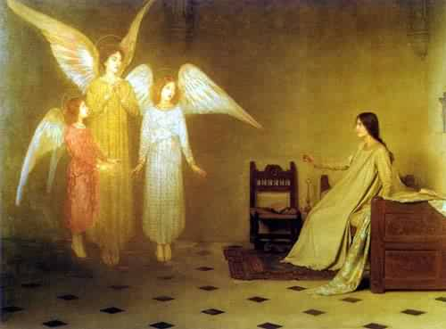 The Awakening | Thomas Cooper Gotch | oil painting