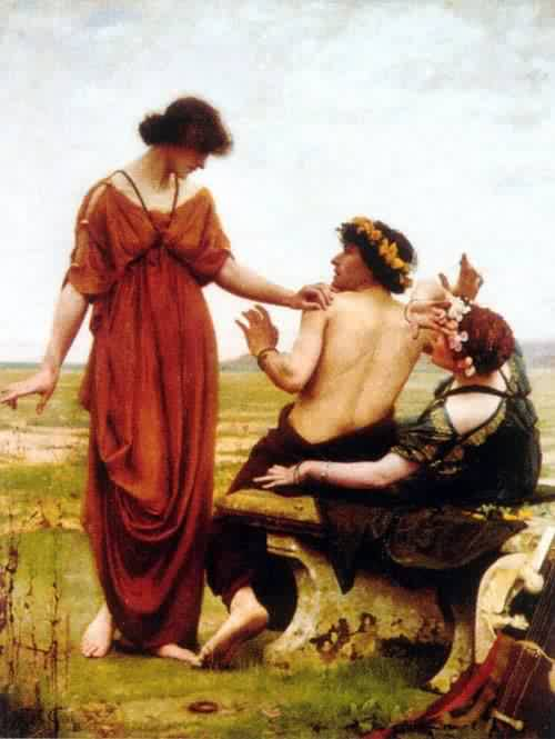Destiny | Thomas Cooper Gotch | oil painting