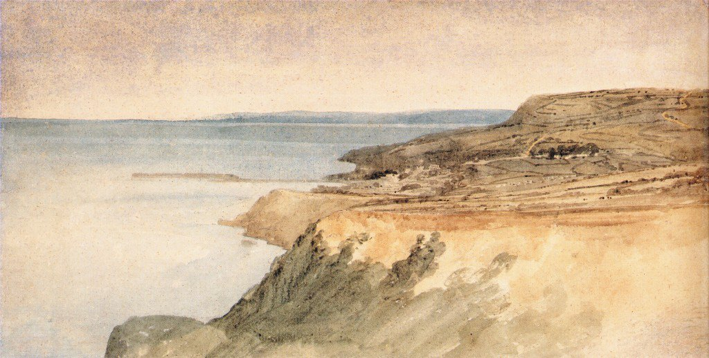 Lyme Regis Dorset | Thomas Girtin | oil painting