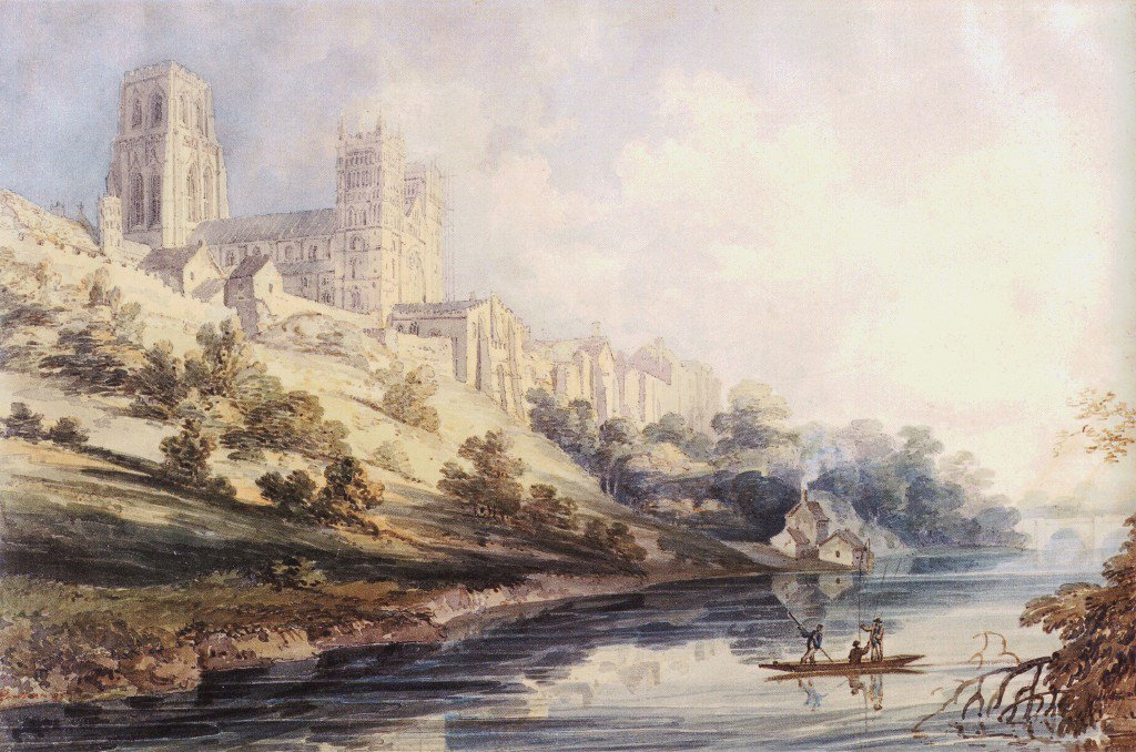 Durham Cathedral and Castle | Thomas Girtin | oil painting