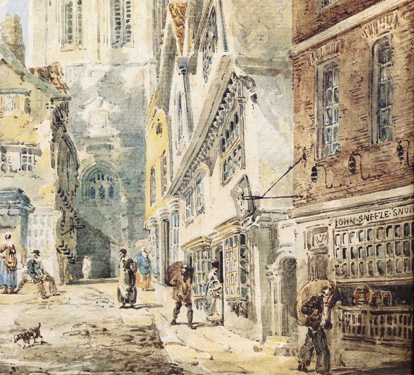 St Nicholas Church Newcastle | Thomas Girtin | oil painting